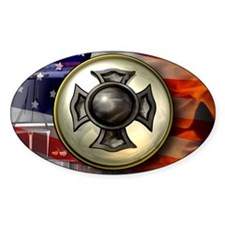LicPlate-FireHouse3c Decal