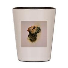 Border Terrier Jewel Shot Glass