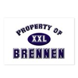 Property of brennen Postcards (Package of 8)