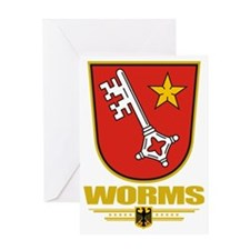 Worms COA Greeting Card