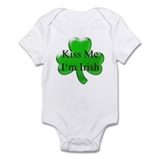 Kiss Me I'm Irish Infant Bodysuit
