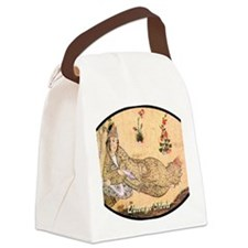 queen_of_sheba_ellipse Canvas Lunch Bag