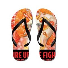 WAR WOMEN FIRE Flip Flops