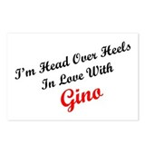 In Love with Gino Postcards (Package of 8)