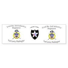 2nd Bn 3rd Infantry mug1 Bumper Sticker