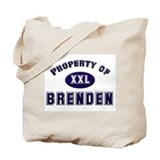 Property of brenden Tote Bag