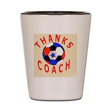 Soccer Coach Thank You Keepsake Gifts Shot Glass