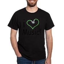 i love music45 T-Shirt