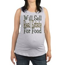 Will Sell Real Estate Maternity Tank Top