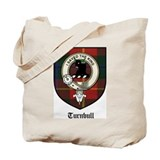 Turnbull Clan Crest Tartan Tote Bag
