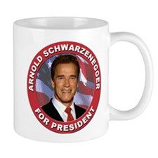 Arnold Schwarzenegger for President Small Mug