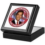 Arnold Schwarzenegger for President Keepsake Box