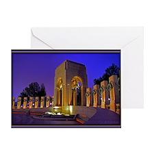 World War II Memorial Greeting Card