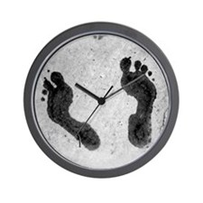 Big Feet Wall Clock