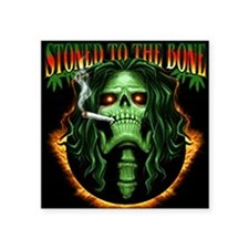 "StoneToTheBone Square Sticker 3"" x 3"""