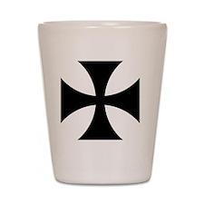 5x5-Cross-Pattee-Heraldry Shot Glass