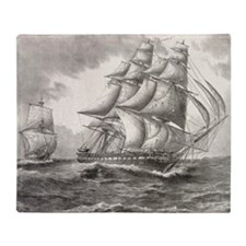 16x20_smallPoster_USSconstitution Throw Blanket