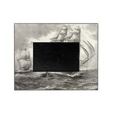 16x20_smallPoster_USSconstitution Picture Frame