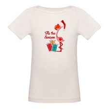 Christmas Flamingo Tee