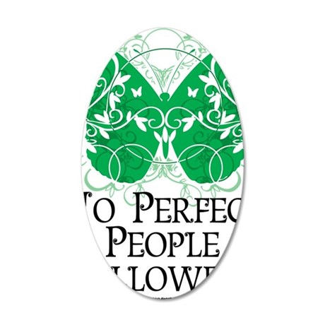 No-Perfect-People-Allowed 35x21 Oval Wall Decal