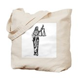 Blind Justice Tote Bag