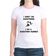 Dry Do Marathon Runner Black T