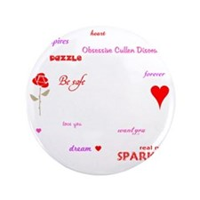 "Twilight Quotes -dk 3.5"" Button"