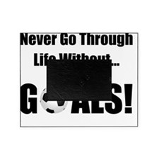 Dry Soccer Goals Black Picture Frame