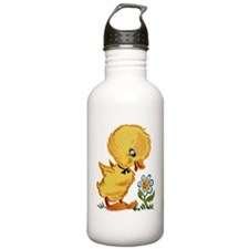 Duck and Flower Water Bottle