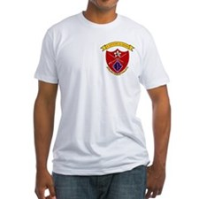 1st Bn 5th Marines<BR>Fitted Tee Shirt