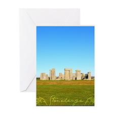 Stonehenge Poster Greeting Card