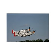 P-51 pair Rectangle Magnet