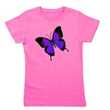 purpleswallowtail Girl's Tee