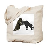 Bull vs. Bear Markets Tote Bag