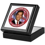 Schwarzenegger for President Keepsake Box
