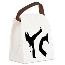 capoeira Canvas Lunch Bag