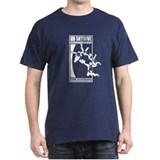 Gravity Fueled 4 Way RW Skydiving  T-Shirt