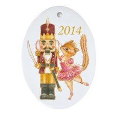 Nutcracker 2013 Ornament (Oval)