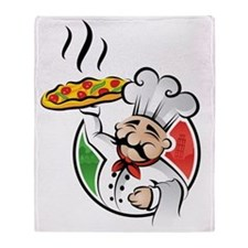 PizzaCasa LOGO Throw Blanket