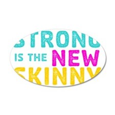Strong is the New Skinny - S Wall Decal