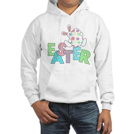 Bunny With Easter Egg Hooded Sweatshirt
