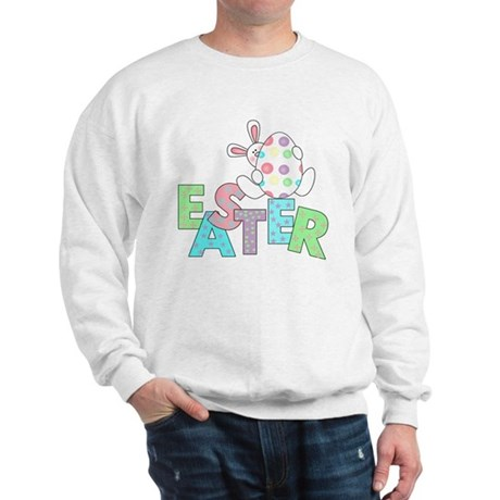 Bunny With Easter Egg Sweatshirt