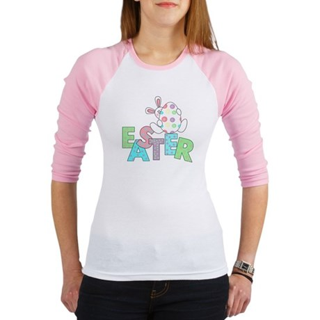 Bunny With Easter Egg Jr. Raglan