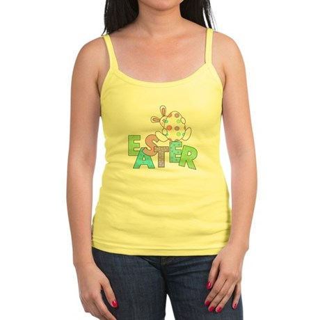 Bunny With Easter Egg Jr. Spaghetti Tank