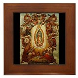 Apparitions of Guadalupe Framed Tile