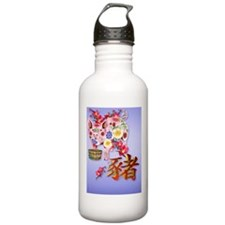 PatchYear Of The Pig Water Bottle