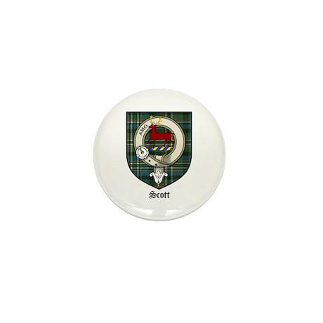 Scott Clan Crest Tartan Mini Button (10 pack)
