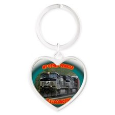 ns_vehicle_tee Heart Keychain
