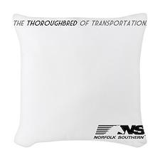 tbred-light Woven Throw Pillow