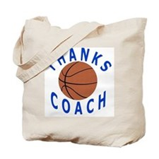 Thank You Basketball Coach Gifts Tote Bag